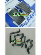 RH&LH aluminum radiator + hose Honda CR125 CR 125R CR125R 00-01 2000 2001 GPI