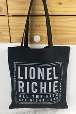 Brand New Nwot Lionel Richie Tote Bag Official Vip Tour Merchandise Memorabilia