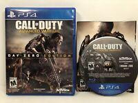 Call of Duty: Advanced Warfare - Day Zero Edition (Sony Playstation 4, 2014)