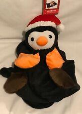 Christmas - Penguin - Plush Pet Bedtime Blanket - 80x100cm - Brand New