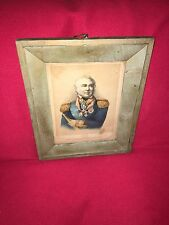 Original Lithograph Print Of Vice Admiral Sir Charles Napier British War Of 1812