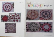 Holiday Doilies Volume 1 Booklet - 7 Popular Designs, On Its Second Printing