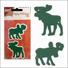 Happy Holidays Elk metal die set Joy cutting dies 6002/0778 Moose animals
