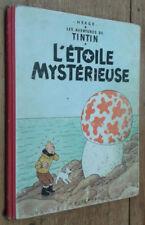Tintin: L'étoile mystérieuse (4e plat B12)