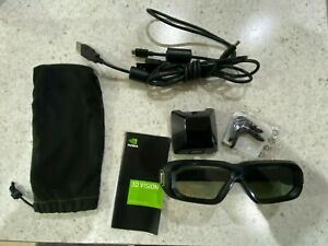 Nvidia 3D Vision 2 with IR Emitter and Cables Very Rare Complete Package