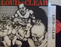 LOUD & CLEAR - Self Titled ~ VINYL LP + INSERT