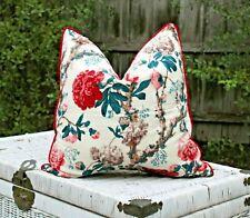 Tropical Plant Floral Leaves Cotton Cushion Cover Decorative Pillow Case Decor