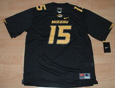 NIKE MISSOURI TIGERS MIZZOU #15 FOOTBALL JERSEY YOUTH LARGE - SUGG. RETAIL $55