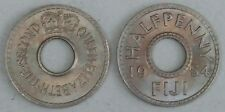 Fiji/fiji 1/2 Penny/Halfpenny 1954 p20 UNC.