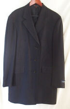 NWT $1695 CANALI Mens Overcoat 100% Pure Wool Coat, Trench / Sports Coat 40R