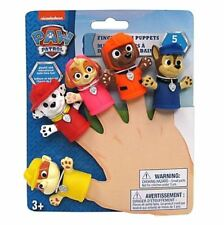 Nickelodeon PAW Patrol PVC Finger Puppets 5 Pack Bathtub Friendly