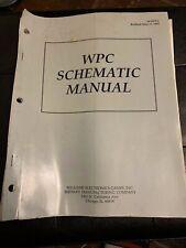 wpc schematic manual 1993 flipper williams