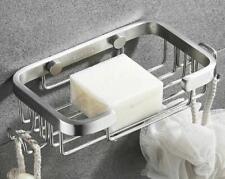 Níquel cepillado Jabonera De Acero Inoxidable 304 Jabón Baño Ducha con soporte para