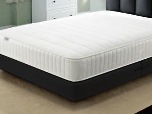 Cool Blue Lines Bonnell spring memory foam mattress 3ft 4ft6 5ft 6ft sizes