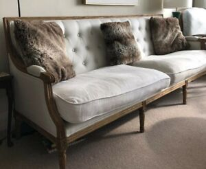 NORDIC STYLE Louis XVI 4-seater sofa at discounted price