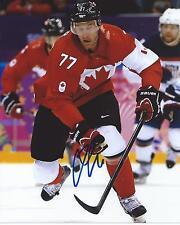 Jeff Carter Signed 8x10 Photo Team Canada 2014 Sochi Olympics Autographed COA