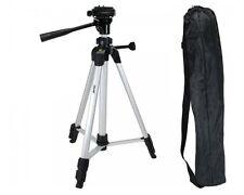 Foto Stativ für Digi-Cam Camcorder Foto-Apparat, Kamera-Ständer Alu leicht 127cm