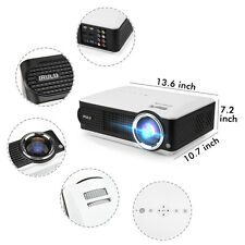 iRULU P4 HD 1080P LED Video Home Theater Projector 2800LM with TV Turner New