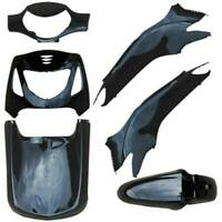 KIT CARENE HONDA SH 125 150 6 PEZZI NERO 2001 2004 PLASTICA CARENATURA FAIRING