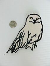 Snow owl patch iron on