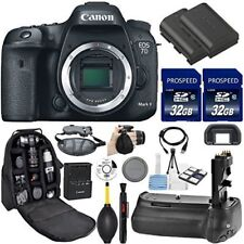 Canon EOS 7D Mark II DSLR  Wi-Fi  (Body Only). Kit