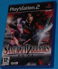 Samurai Warriors - Sony Playstation 2 PS2 - PAL