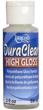DecoArt DuraClear Poly Varnish High Gloss Clear Finish 2oz