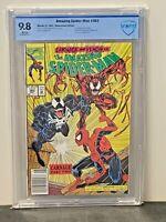 Amazing Spider-Man #362 9.8 Rare Newsstand 2nd CARNAGE VENOM 1992 Marvel Comics