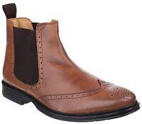 Cotswold Nettleton Mens Brogue Style Slip On Boot UK6-12
