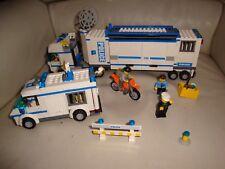 Lego 7288 / 7286 - Unité de Police mobile / Transport du prisonnier - Incomplet