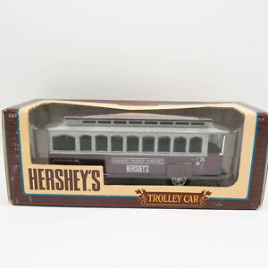 ERTL Hershey's Trolley Car 100th anniversary 1:43 scale Diecast Bank 1994 New