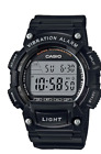 Casio W-736H-1A Men's Alarm Vebration Digital Sport 100m W736
