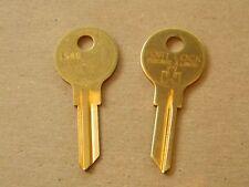 2 Fort Lock Single Sided Key Blanks L54G - 6 Wafer - Original- FREE code cutting