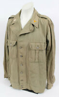 WWII US ARMY MEDICAL OFFICER 1st PATTERN HBT JACKET REF#156