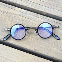 Herren Damen Klein Brillengestelle Acetat Jahrgang Blaulichtblockierung Brille
