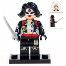 Katana (Samurai Warrior) - Marvel Universe Super Hero Lego Moc Minifigure