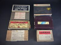 Joli lot de 7 boîtes de Plaques photos anciennes CERTAINES JAMAIS OUVERTES