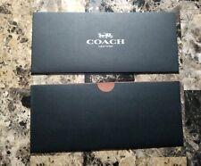 Coach Receipt Envelopes (Set of 2) Black - Gift Card Holder, Envelope