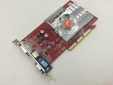 256MB ATI Radeon 9550 AGP Grafikkarte 256 MB DVI D-Sub Grafik Karte *Neu*