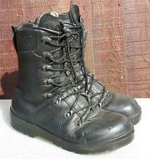 More details for genuine army surplus german forces para boot parachute boots black leather mk6