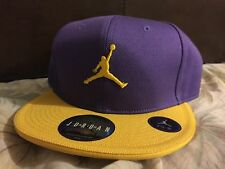 97bb539d8f24 ... discount code for jordan lakers colorway purple yellow cap embroidered  retired rare sz 7 3 8