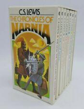 Chronicles Of Narnia CS Lewis Collier 1970, 7 Vol Box Set