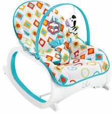 Baby bouncer Luxe moderno Rocker sedia elegante con musica rilassante & vibrazioni