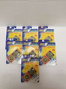Super Soaker Water Tag Body Targets 16 Target Pack w/ Body Clips Lot of 7 Sealed