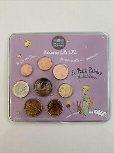 coffret euros BU 2012 2€ - Le Petit Prince - Fille