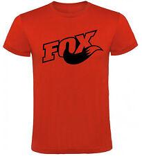Camiseta Fox Motos logo con cola Hombre varias tallas y colores a026