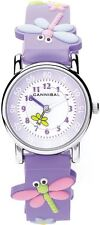 Cannibal Active Children's Watch Purple Strap Butterfly Flowers Theme CK198-16