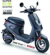 RecTo Sport Moden Elektroroller 2000 Watt BOSCH Motor 1200 WH LiIon 60V AKKU NEU