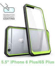 SUPCASE iPhone 6 Plus/6S Plus Unicorn Beetle Hybrid Protective Bumper Case Green