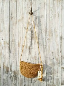 Nil. Woven Crossbody Bag / Was Selling At Anthropologie